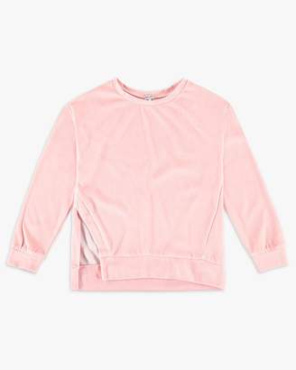 Splendid Girl Velour Sweatshirt