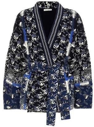 Ulla Johnson Sachi printed cotton-blend jacket