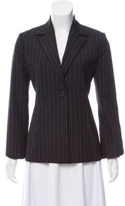 Gianni Versace Pinstripe Single-Button Blazer