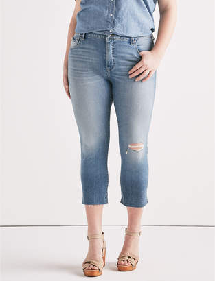 Lucky Brand EMMA HIGH RISE CROP JEAN IN CITRUS VALLEY