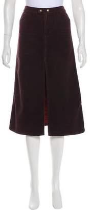 Dolce & Gabbana Denim Midi Skirt