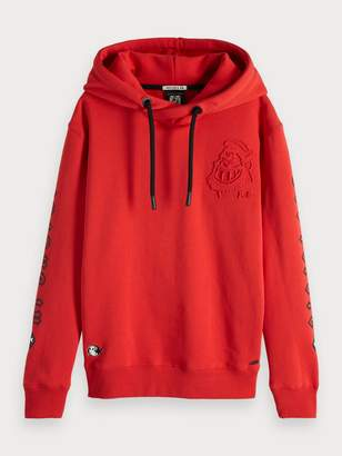 Scotch & Soda Artwork Hoodie Brutus