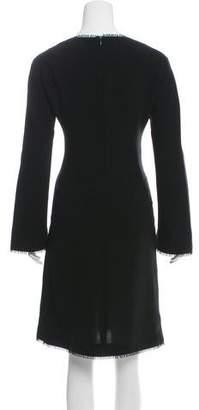 Thierry Mugler Embellished Knee-Length Dress