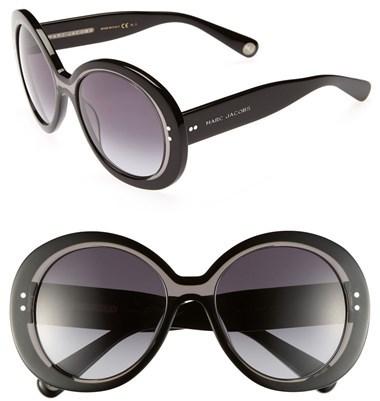 Marc Jacobs 55mm Oversized Sunglasses