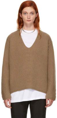 Acne Studios Brown Wool Deborah Sweater