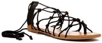 Madden Girl Starla Lace-Up Sandal $39.99 thestylecure.com