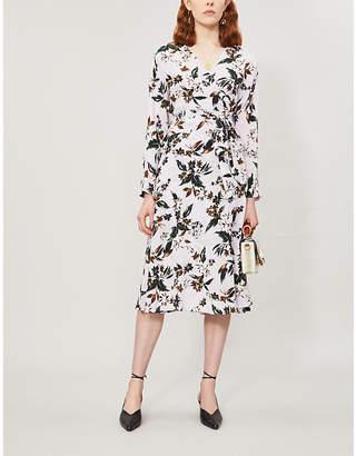 Diane von Furstenberg Ellie floral-print silk wrap dress
