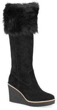 UGG Valberg Suede Wedge Boots