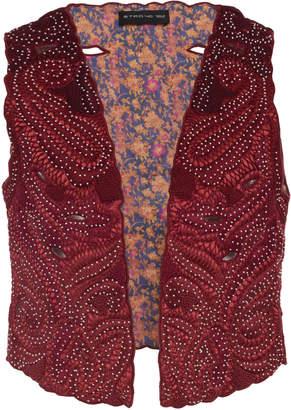 Etro Paisley Jacquard Vest