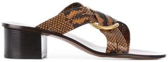 Chloé Rony mid-heel sandals