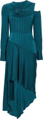 Yigal Azrouel Long Sleeve Cutout Dress