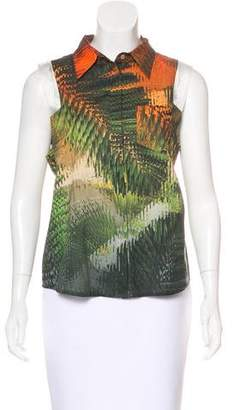 Chalayan Printed Sleeveless Top
