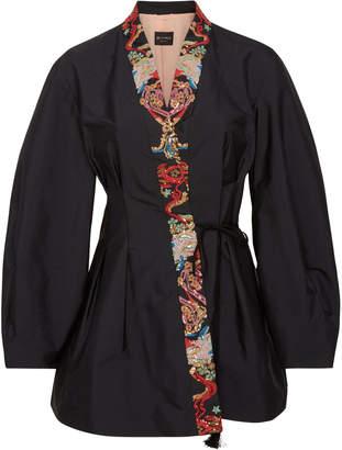 Etro Penrose Embellished Taffeta Jacket