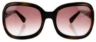 Paul Smith Marbled Square Sunglasses $65 thestylecure.com