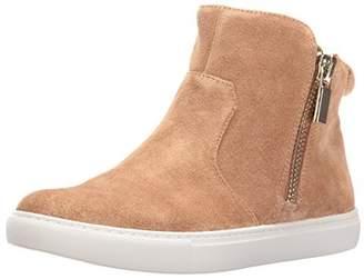 Kenneth Cole New York Women's Kiera High Top Double Zip Suede Fashion Sneaker