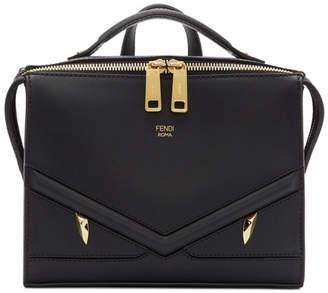 Fendi Black Bag Bugs Messenger Bag