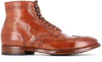 Officine Creative princeton 036 Lace-up Brogue Boots