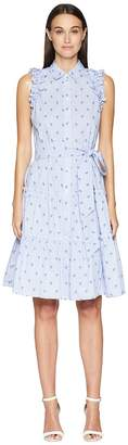 Kate Spade Sleeveless Palm Tree Dress Women's Dress