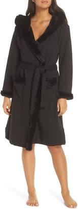 UGG Duffield II Deluxe Faux Fur Trim Robe