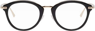 Tom Ford Black and Rose Gold Glasses