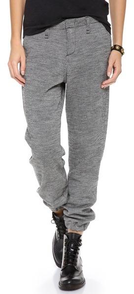 Rag and Bone Houndstooth Pajama Trousers