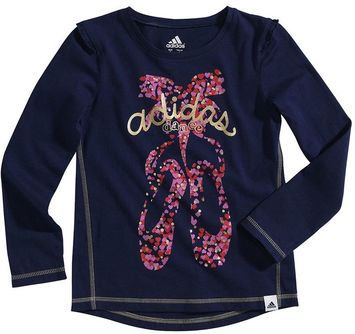 adidas ballet shoes tee - baby