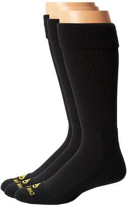 Dan Post Cowboy Certified Over the Calf Socks 3 Pack Men's Crew Cut Socks Shoes