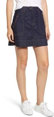 7 For All Mankind Utility Miniskirt
