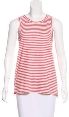 Current/Elliott Striped Sleeveless Top
