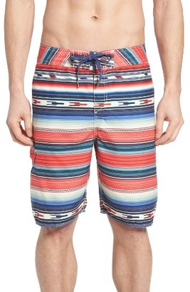 Men's True Grit Serape Stripe Board Shorts $95 thestylecure.com