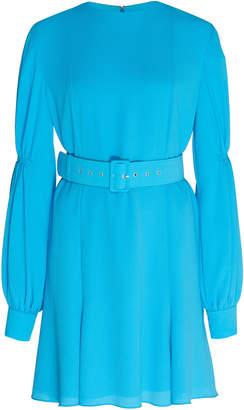 Emilia Wickstead Philippa Long-Sleeve Mini Dress
