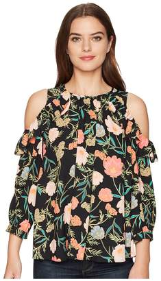 Kate Spade Blossom Cold Shoulder Top Women's Clothing
