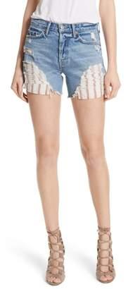 GRLFRND Jourdan Rigid High Waist Denim Shorts