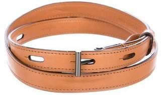 Reed Krakoff Narrow Leather Waist Belt