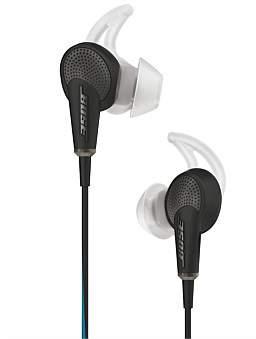 Bose Quietcomfort 20 Noise Cancelling Headphones - Apple - Black