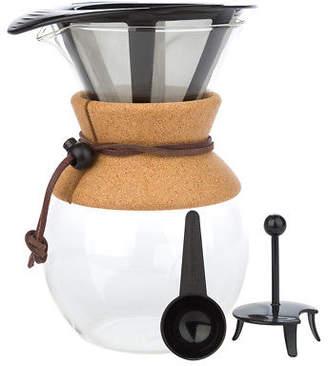 Bodum NEW Pour Over Cork Grip Coffee Maker 1L