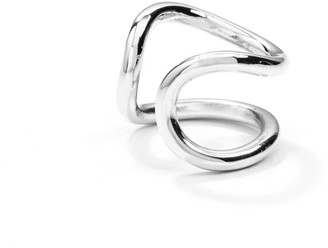 Mvdt Collection Mini Bold Ear Cuff Silver