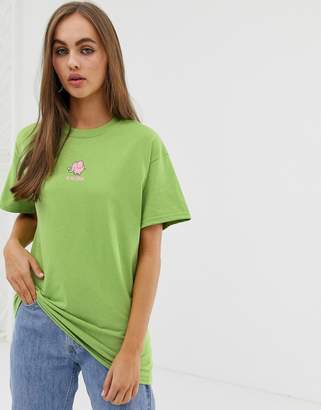 Daisy Street relaxed t-shirt with elephant graphic