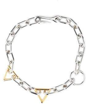 Alexander Wang Silver And Gold-Tone Chain Choker