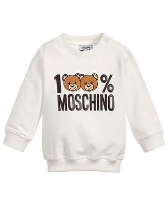 Moschino 100% Unisex Logo Sweat