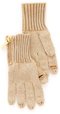 MICHAEL Michael Kors Zip Gloves