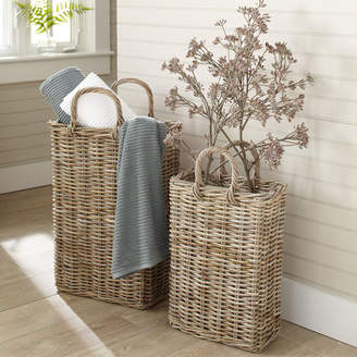 Birch Lane Tall Wicker Storage Basket