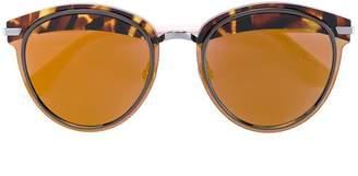 Christian Dior tortoiseshell brim sunglasses