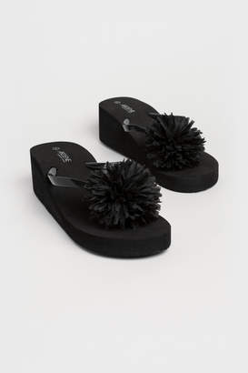 Ardene Foam Wedge Flip-Flops