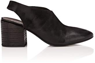 Marsèll Women's Distressed Leather Slingback Sandals