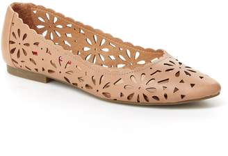 UNIONBAY Waldorf Women's Perforated Floral Flats