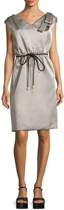 Marc Jacobs Satin Tie-Waist Popover Dress