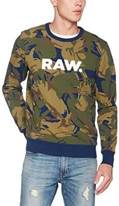 G Star Men's Dc Core Round Neck Sweater Long Sleeve