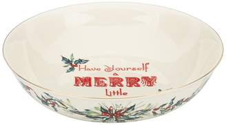 Lenox Have Yourself A Merry Little Christmas Sentiment Bowl