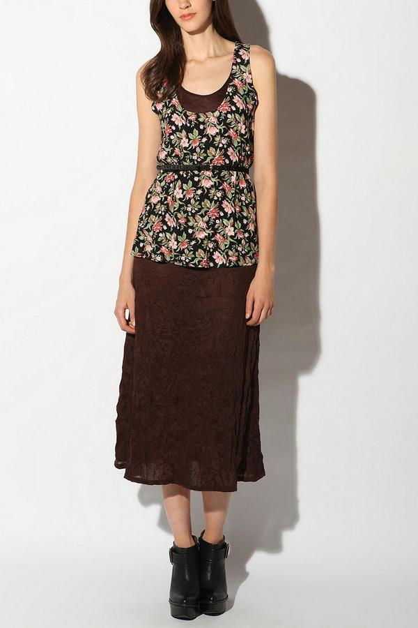 Urban Renewal Layered Floral Maxi Dress